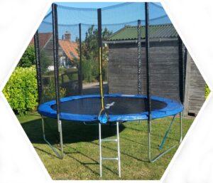 Les Gîtes Du Verger - le trampoline