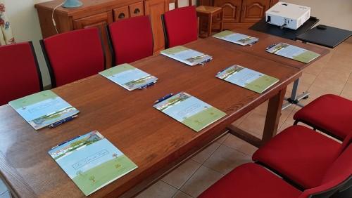 Les Gites Du Verger - Hardelot - séminaire - table de réunion