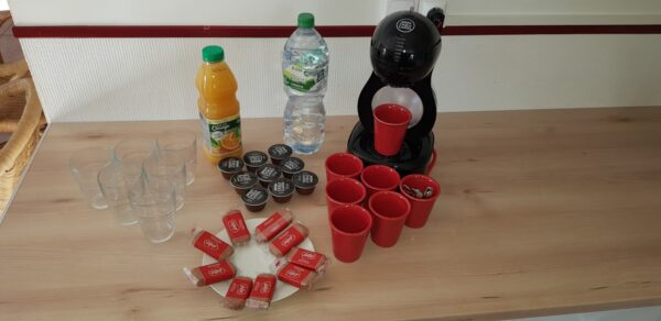 Pose café - Séminaire - les Gites du Verger
