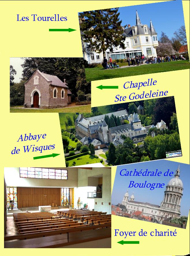 Chapelle Ste Godeleine à Wierre Effroy