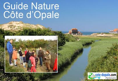 affiche randonnées sur la Côte d'Opale